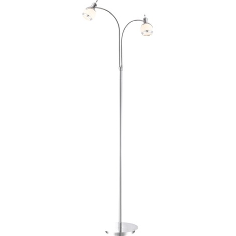 GLOBO 56100-2S - Stojací lampa ANGELO 2xG9/33W
