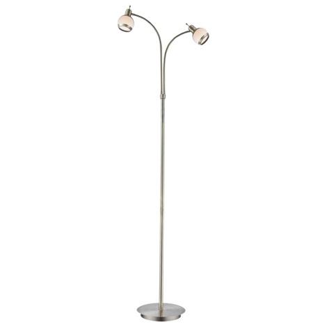 Globo 56101-2S - Stojací lampa GALVIN 2xG9/33W/230V