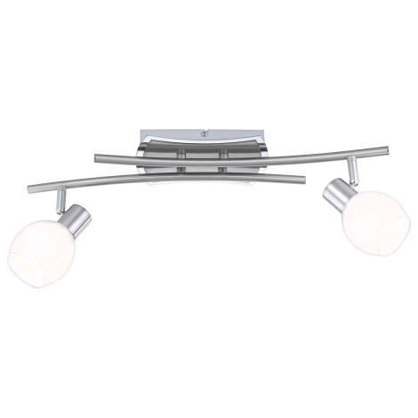 GLOBO 56197-2 - LED nástěnné světlo ADELA LED 2xLED/4W/10V