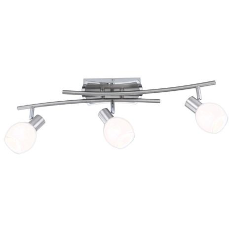 GLOBO 56197-3 - LED stropní svítildo ADELA LED 3xLED/4W/10V
