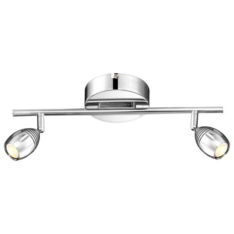 GLOBO 56203-2 - LED Bodové svítidlo MORELIA 2xLED/5W