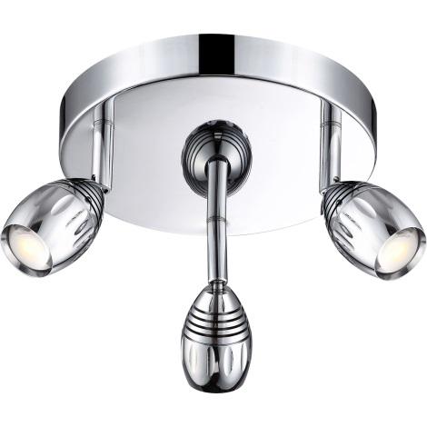 GLOBO 56203-3 - LED Bodové svítidlo MORELIA 3xLED/5W