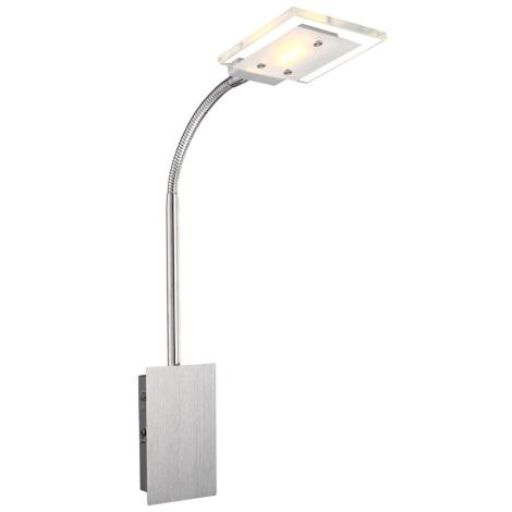 Globo 56204-1W - Nástěnné svítidlo AURELE LED 1xLED/5W/230V