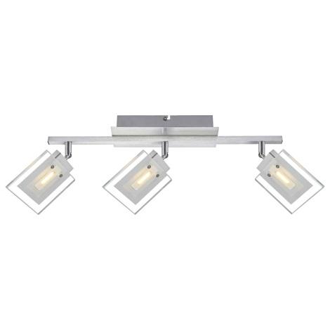 Globo 56204-3 - LED bodové svítidlo AURELE 3xLED/5W/230V