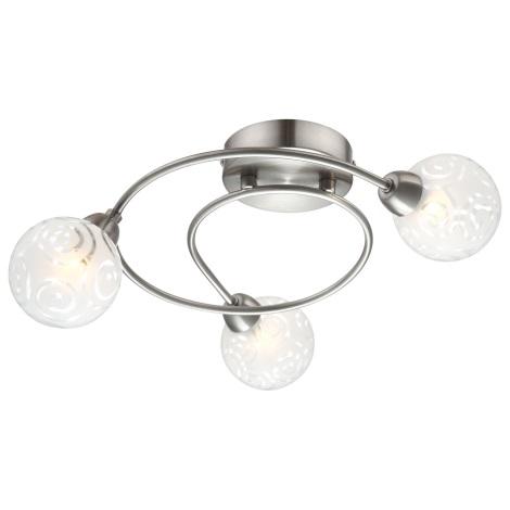 GLOBO 56392-3 - Stropní svítidlo ORLENE 3xG9/28W