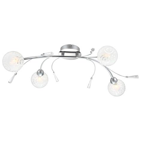 GLOBO 56392-4D - Stropní svítidlo ORLENE 4xG9/28W