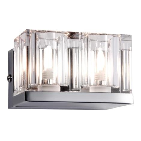 GLOBO 56440-2 - Nástěnné svítidlo CUBS 2xG9/33W/230V