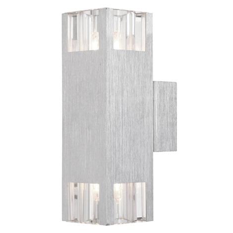 GLOBO 56444-2 - Nástěnné svítidlo AMOENA 2xG9/33W/230V