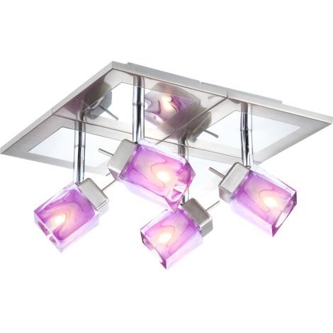GLOBO 56449-4 - Bodové svítidlo CATTLEYA 4xG9/33W