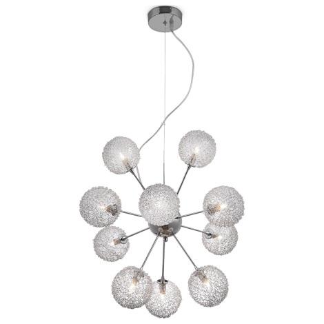 GLOBO 56620-10H - Závěsné stropní svítidlo ENIGMA  10xG9/33W