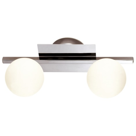 GLOBO 5663-2 - Koupelnové svítidlo CARDIFF 2xG9/33W/230V