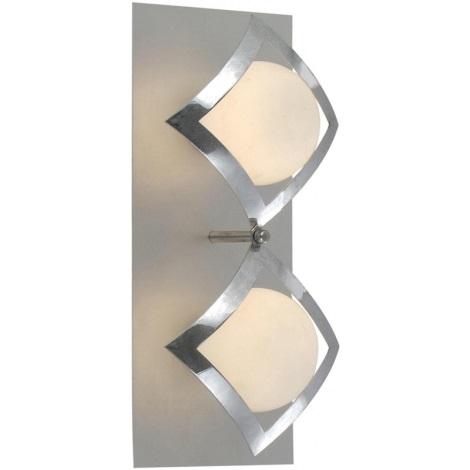 Globo 5665-2 - Nástěnné svítidlo PERSEPHONE 2xG9/33W/230V