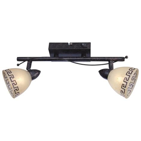 Globo 5684-2 - Nástěnné/stropní svítidlo ROMA 2x33W/G9/230V