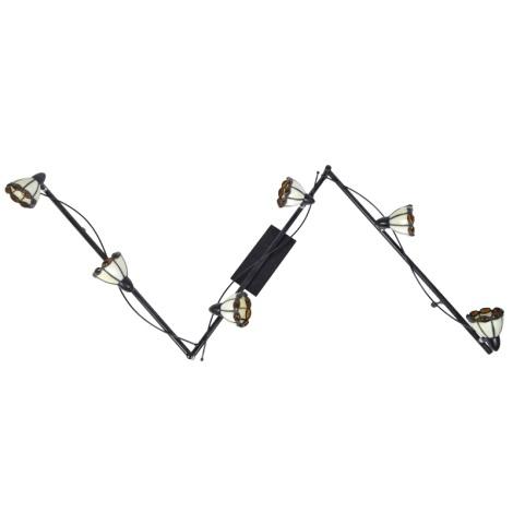GLOBO 5686-6 - Bodové svítidlo LATINA 6xG9/40W