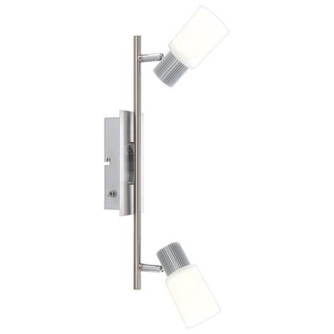 Globo 56913-2 - LED Nástěnné svítidlo LISTER 2xLED/5W/6,5V