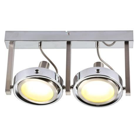Globo 56946-2 - LED bodové svítidlo BARONI 2xLED/5W/230V