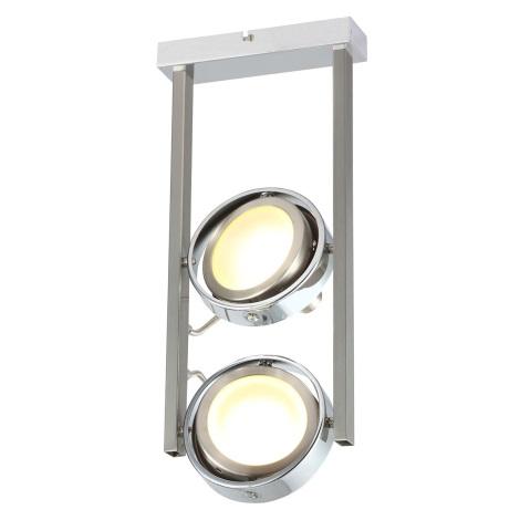 GLOBO 56946-2D - LED bodové svítidlo BARONI 2xLED/5W/15V