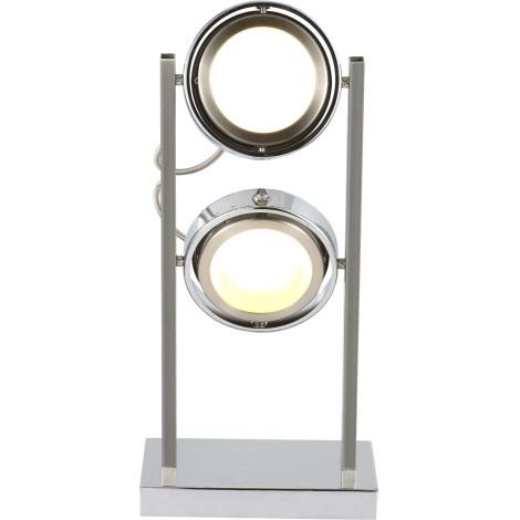 GLOBO 56946-2T - Stolní lampa BARONI 2xLED/5W/15V