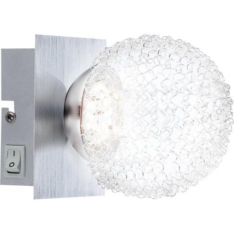 GLOBO 56962-1 - Nástěnné svítidlo DEVILLE 1xLED/5W/3,5V