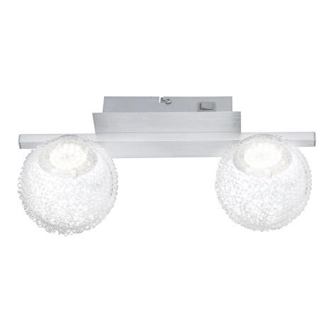 GLOBO 56962-2 - Nástěnné svítidlo DEVILLE 2xLED/5W/3,5V