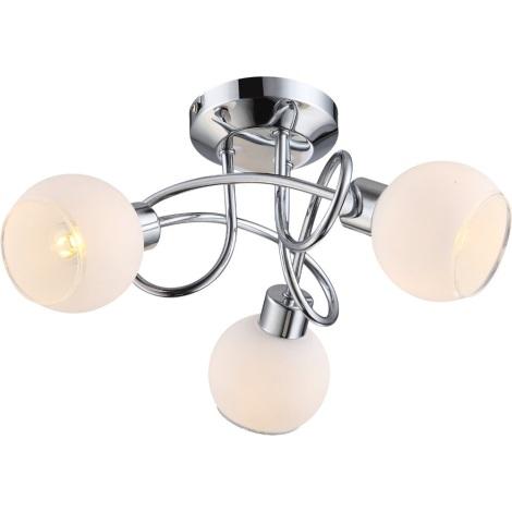 GLOBO 56963-3 - LED Stropní svítidlo SIONY 3xGU10/4W LED