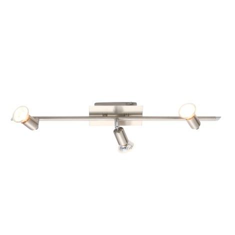 GLOBO 5730-3 - Bodové svítidlo GROSETTO 3xGU10/50W