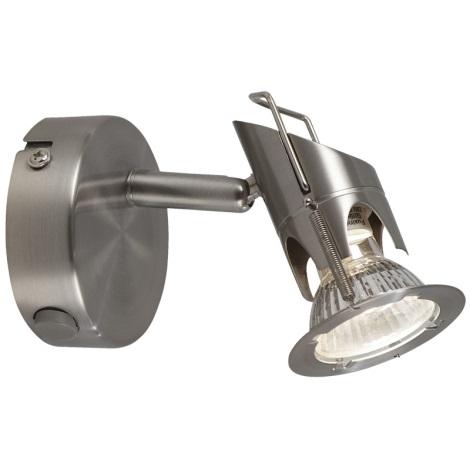 GLOBO 57350-1 - Bodové nástěnné svítidlo MOA 1xGU10/50W/230V