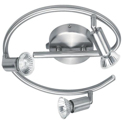 GLOBO 5739-3 - Bodové svítidlo HOT 3xGU10/50W/230V