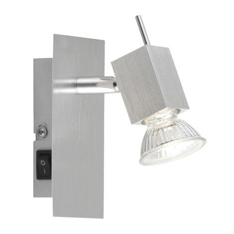 GLOBO 5787-1 - Bodové nástěnné svítidlo CAREA 1xGU10/50W/230V
