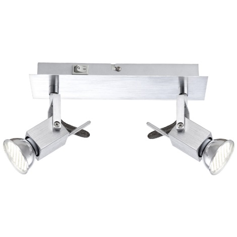 GLOBO 57870-2 - Bodové LED svítidlo CLIMAX 2xGU10/3,5W/230V