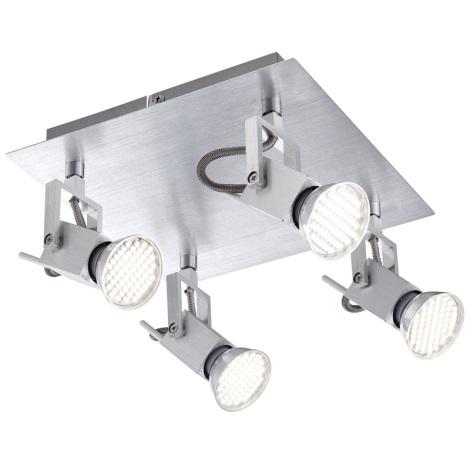 GLOBO 57870-4 - Bodové LED svítidlo CLIMAX 4xGU10/3,5W/230V