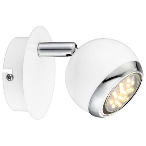 GLOBO 57882-1 - LED nástěnné svítidlo OMAN 1xGU10/2,5W