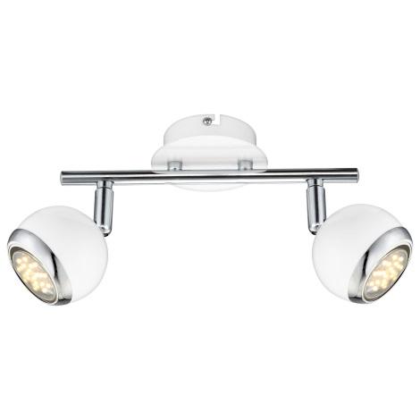 GLOBO 57882-2 - LED bodové svítidlo OMAN 2xGU10/2,5W
