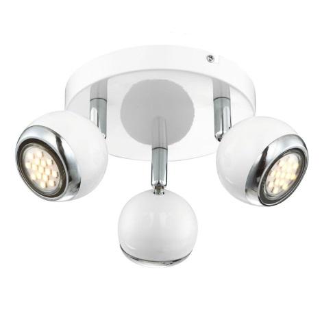 GLOBO 57882-3 - LED Bodové svítidlo OMAN 3xGU10/2,5W