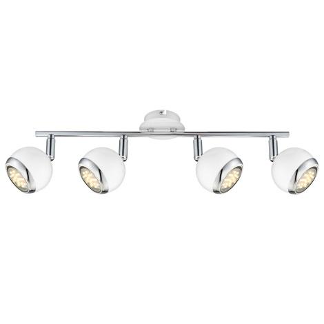 Globo 57882-4 - LED bodové svítidlo OMAN 4xGU10/2,5W/230V