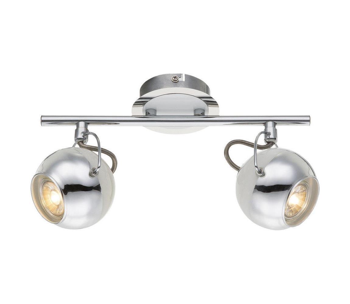 Globo Globo 57883-2 - LED Bodová svítidla CHARLEY 2xGU10/5W/230V GL4671