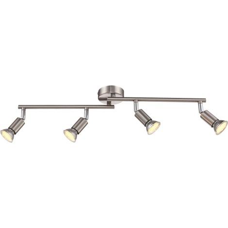 GLOBO 57991-4 - LED stropní svítidlo MATRIX 4xGU10LED/2,3W/230V