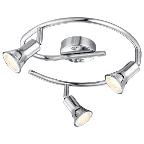 GLOBO 57994-3 - LED Bodové svítidlo DANTE 3xGU10LED/3W