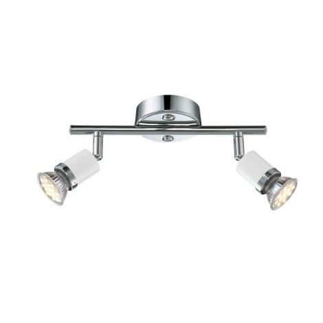 GLOBO 57996-2 - LED Bodové svítidlo FINA 2xGU10-LED/2,5W