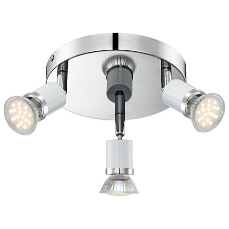 GLOBO 57996-3 - LED Bodové svítidlo FINA 3xGU10-LED/2,5W