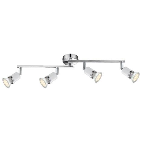 GLOBO 57996-4 - LED Bodové svítidlo FINA 4xGU10-LED/2,5W