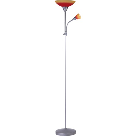 Globo 58466 - Stojací lampa TRITON E14,E27/40,60W/230V