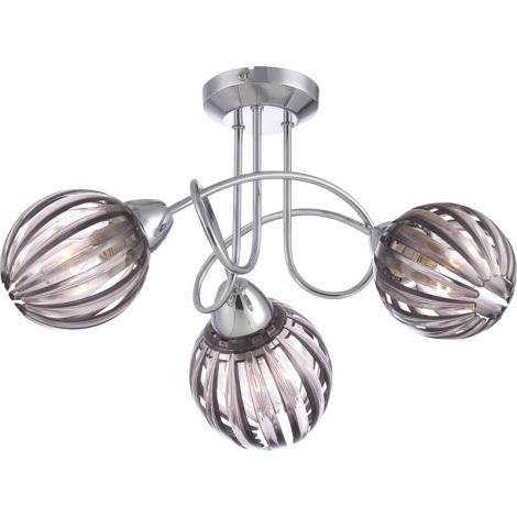 GLOBO 63176-3 - stropní svítidlo CAJETAN 3xE14/40W