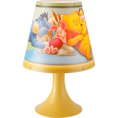GLOBO 662312 - Stolní lampa WINNIE POOH 1xG24q/10W/230V