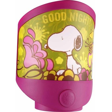 GLOBO 662390 - LED svítidlo SNOOPY 3xLED/0,06W