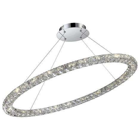 Globo 67038-40 - LED závěsné křišťálové svítidlo MARILYN I 1xLED/40W/230V