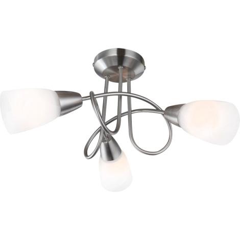 GLOBO 67132-3 - stropní svítidlo INDIRA 3xE14/40W