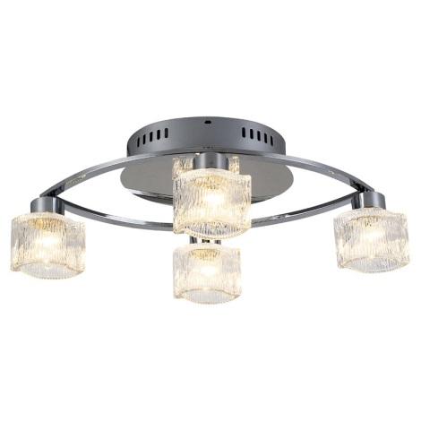 GLOBO 68253-4 - Stropní svítidlo OCULUS 4xG9/33W
