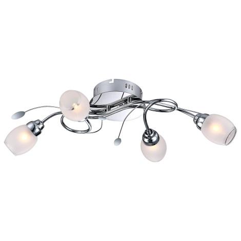 GLOBO 68283-4 - LED Stropní svítidlo BILL 4xG9/33W, 12xLED/0,18W