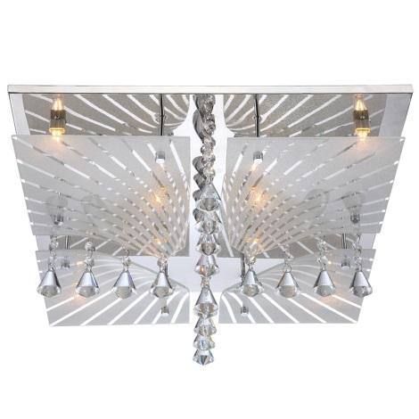 Globo 68544-8 - Křišťálové stropní svítidlo VERDI 8xG9/33W/230V